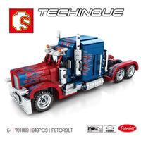 レゴ互換 トランスフォーマー コンボイ オプティマスプライム  849ピース LEGO互換品