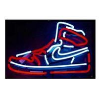靴型 ネオンサイン ネオン管 ナイキ ニューバランス コンバース 9種類 看板 ライト 人気 おしゃれ インテリア ディスプレイ 輸入雑貨