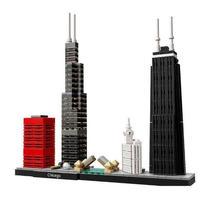 レゴ互換 アーキテクチャー シカゴ 21033 LEGO互換品