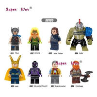 LEGO風 レゴ互換 アベンジャーズ 8体セット 10パターンから選択可能