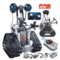 レゴ互換 クリエイティブ RC ロボット ラジコン リモコン 408ピース 知能 ロボット LEGO互換品 おもちゃ ホビー 誕生日プレゼント