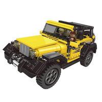 レゴ互換 ジープ オフロード車 LEGO互換品 おもちゃ クリスマス プレゼント