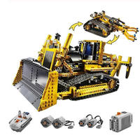 レゴ互換 電動式ブルドーザー 8275 テクニック LEGO互換品 おもちゃ ブロック