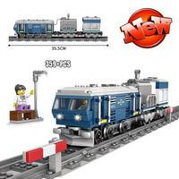 レゴ互換 DF11Z ディーゼル機関車 ブルー 鉄道 電車 LEGO互換品 クリスマス プレゼント