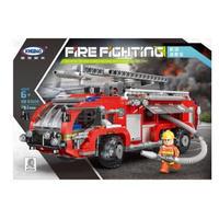 レゴ 消防車 はしご車 互換品 レゴブロック LEGO互換