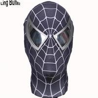 ハイクオリティ MARVEL マーベル ブラックスパイダーマン マスク 3D コスプレ コスチューム ハロウィン 衣装 映画