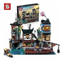 レゴ互換 ニンジャゴー ニンジャゴーシティ・ポートパーク 70657 LEGO互換
