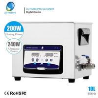 超音波洗浄機 業務用 10リットル ヒーター 超音波洗浄器10L
