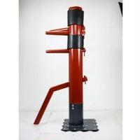 木人椿 詠春拳 ジークンドー 160cm 色:レッド エクササイズ