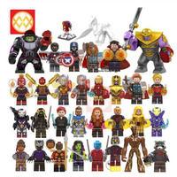 アベンジャーズ ミニフィグ 大量29体+ペガサス レゴ互換 LEGO ブロック アイアンマン キャプテンアメリカ