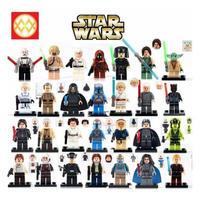 スターウォーズ ミニフィグ 大量28体 レゴ互換 LEGO ブロック STARWARS レイア姫 ルークスカイウォーカー ダースベイダー ヨーダ ジェダイ