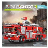 レゴ 消防車 ポンプ車 互換品 レゴブロック LEGO互換