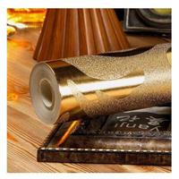 3D 壁紙 53×1000㎝ ダマスク 金 銀 メッキ PVC 防水 カビ対策 おしゃれクロス インテリア 装飾 寝室 リビング