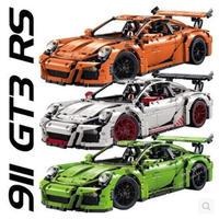 レゴ互換 42056 テクニック ポルシェ 911 GT3 RS 3色 ブロック 車 LEGO互換品
