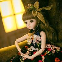 60CM 球体関節人形(BJD) 本体+服+ウィッグ+眼球+靴 メイク済 SD 1/3 女の子 おもちゃ コスプレ人形 ハンドメイド