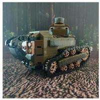 レゴ互換 フランス  ルノー FT-17 軽戦車 ミリタリー ブロック 模型 戦車 LEGO互換品