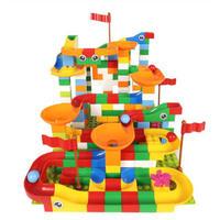 レゴ互換 デュプロ ルーピング コースター  296ピース ビー玉転がし ビーズコースター スロープトイ LEGO互換品