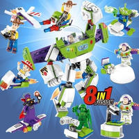 レゴ互換 ディズニートイストーリー ウッディ バズ 8in1 セット LEGO互換品 クリスマス プレゼント
