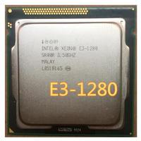 インテルxeon E3-1280 8M キャッシュ3.60 ghz SR00R lga1155 e3 1280 cpuプロセッサ 動作品