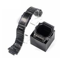 G-SHOCK カスタム用 ケースベルトセット 互換品 レトロ加工 ブラック 5600 5610 時計ストラップ ヴィンテージ