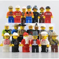 レゴ互換 ミニフィグ 世界の人々 20体セット ミニフィギュア ブロック 人形 LEGO互換