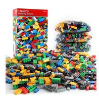 レゴ互換 カラフルブロック 1000ピースセット 知育 クリエイティブ ブロック ビルディング LEGO互換品 おもちゃ 誕生日プレゼント