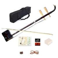 二胡 本体 初心者セット ケース ブック 弦 弓 中国 楽器 ロジン 木製 特殊