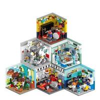 レゴ互換 ミニモジュール式 将来の夢 他6個セット LEGO互換品 クリスマス プレゼント
