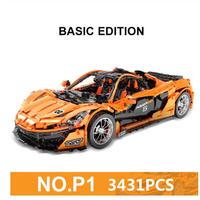 レゴテクニック 互換 マクラーレン P1 オレンジ 3431ピース LEGO互換
