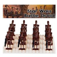 レゴ互換 バトルドロイド ミニフィグ 30体 スターウォーズ 5色から選択 LEGO互換
