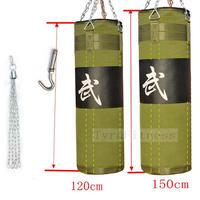 150cm  サンドバッグ フック付き トレーニング MMA ボクシング バッグ ハンギング キック ムエタイ パンチ ファイトバッグ