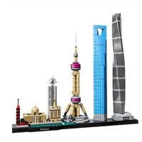 レゴ互換 アーキテクチャー 上海 21039 LEGO互換