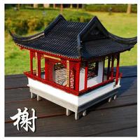 森と公園 フルールパビリオン 1/25スケール 神社 神宮 祭祀施設 鳥居 木製 模型 モデルキット プラモデル キット