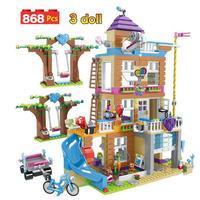 レゴ互換 ハートレイクシティ フレンドシップ 868ピース LEGO互換品 知育 ブロック おもちゃ