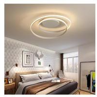 モダンLEDシーリングライト リビングルーム ベッドルーム 46×12㎝ ブラック ホワイト 2色 AC85-265V対応 調光可能