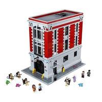 レゴ互換 75827 ゴーストバスターズ HQ(消防署本部) LEGO互換