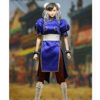 1/6  Street Fighter Chun Li ストリートファイター 春麗 ダブルヘッドとダブルチャイナドレス服とシングル素体セット