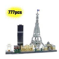 レゴ互換 アーキテクチャー パリ 21044 LEGO互換品