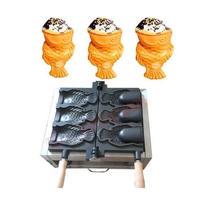 アイスコーンたい焼き機 業務用 ホームパーティー 家庭用 110V 同時に3個作成可
