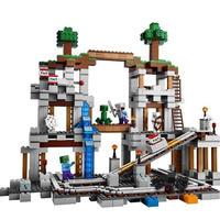 【LEGO互換】マインクラフト 鉱山 マイン 21118相当 欠品保障