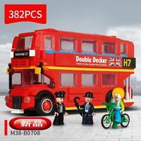 レゴ互換 ミニ ロンドンバス LEGO互換品 おもちゃ クリスマス プレゼント