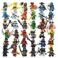 ニンジャゴー ミニフィグ 大量36体 レゴ互換 LEGO ブロック ロイドタイタンメカメカ