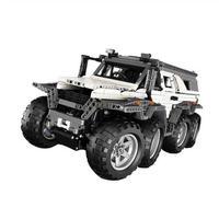 レゴ互換 テクニックAvtoros Shaman 8x8風 オフロード車 リモートコントロール LEGO互換