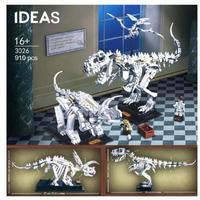 レゴ互換 アイデア 恐竜化石 博物館 910ピース ティラノサウルスレックストリケラトプス LEGO互換品 おもちゃ 誕生日プレゼント