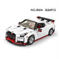 レゴ互換 スポーツカー 13104 日産 GTR R35 レーシングカー おもちゃ 1024ピース LEGO互換