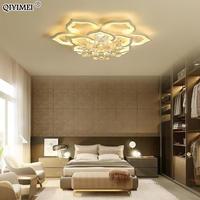 ホワイト アクリル 現代 シャンデリア 12heads 調光可能 リビングルーム・寝室 リモコン LED 天井照明器具 屋内ランプ ホーム