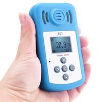 酸素計ポータブル Oxygen(O2) 濃度検出器で液晶ディスプレイとサウンド ライト目覚まし時計