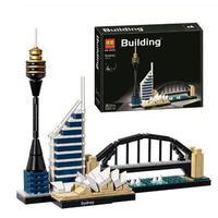 LEGO互換 アーキテクチャー シドニー 21032 レゴ互換品