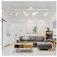 北欧 天井照明 LED 4ヘッド 角度調整可能 2色 シーリングライト リビング ダイニング 玄関 寝室 照明器具