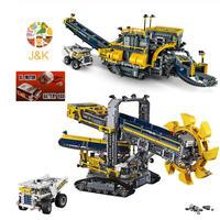 レゴ互換 テクニック バケット掘削機 モーター付き 42055 LEGO互換